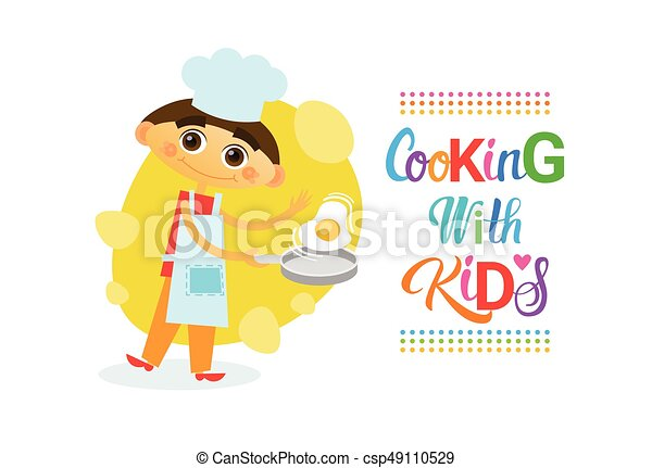 Rozwój Dzieciaki Gotowanie Kulinarny Klasy Hobby Dzieci