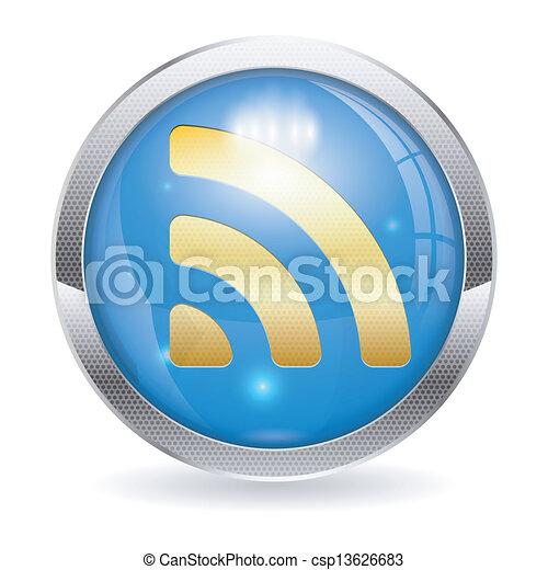 RSS Button - csp13626683