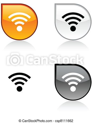 Rss button. - csp8111662