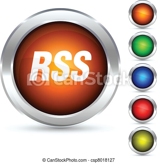 Rss button. - csp8018127