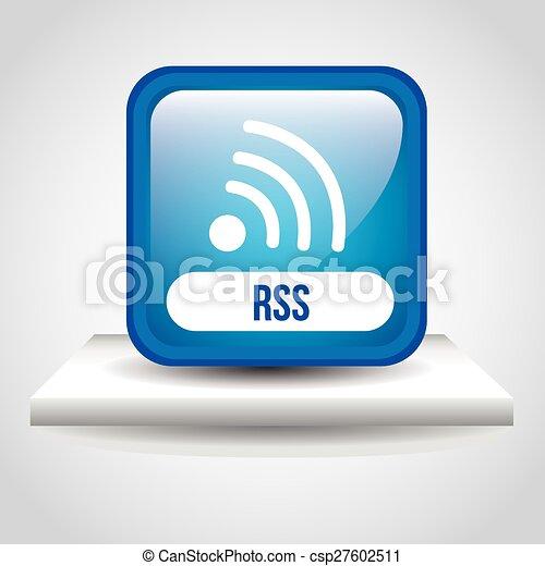 rss button - csp27602511