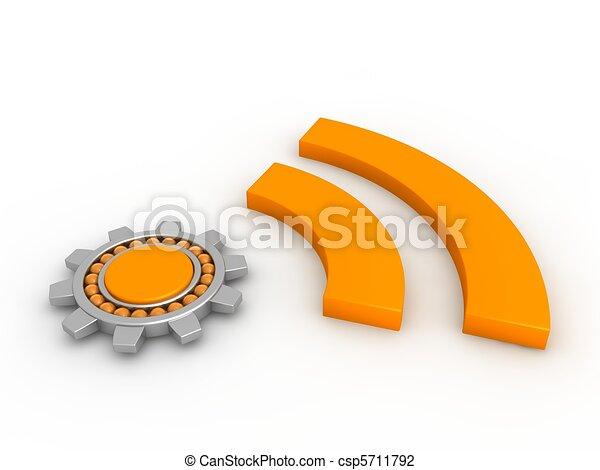 RSS Concept - csp5711792