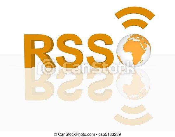 RSS Concept - csp5133239