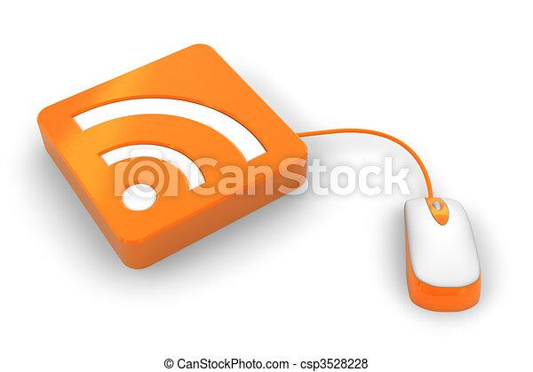 RSS concept - csp3528228