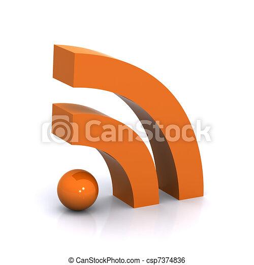 RSS Concept - csp7374836