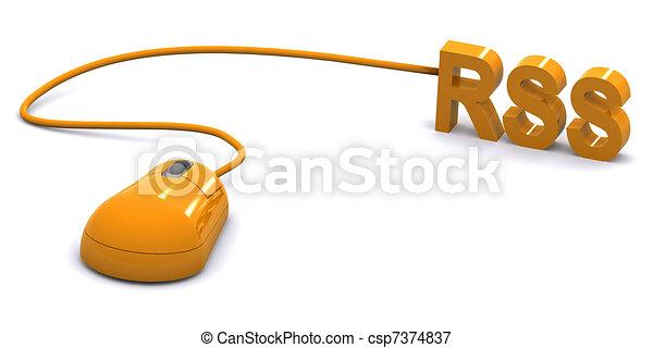 RSS Concept - csp7374837