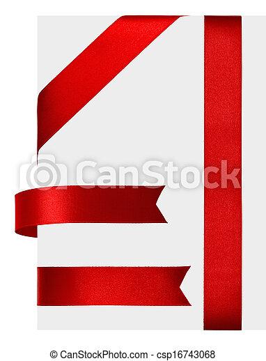 ruban rouge - csp16743068