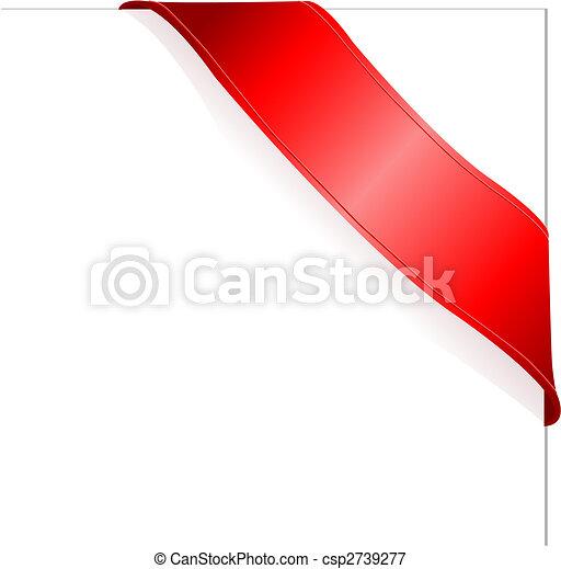 ruban rouge - csp2739277