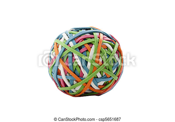 Rubber band - csp5651687