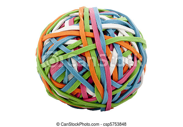 Rubber band - csp5753848