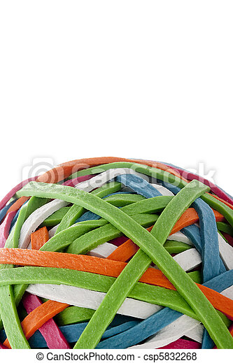 Rubber band - csp5832268