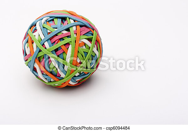 Rubber band - csp6094484
