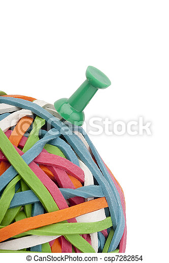 Rubber band - csp7282854