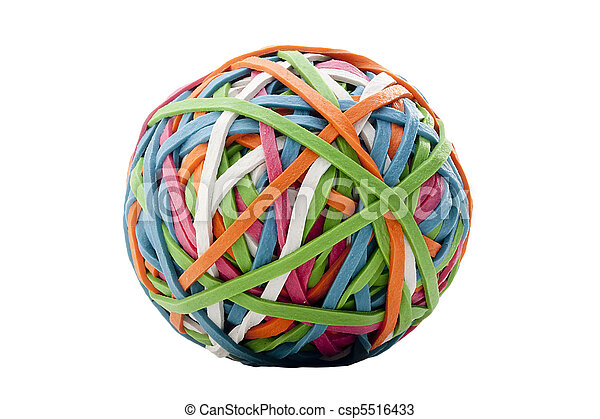 Rubber band - csp5516433