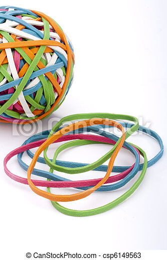 Rubber band - csp6149563