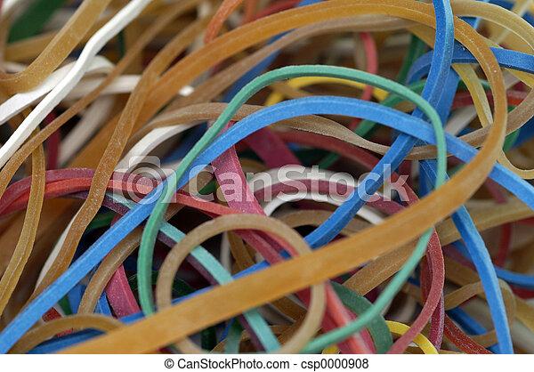 rubber bands - csp0000908