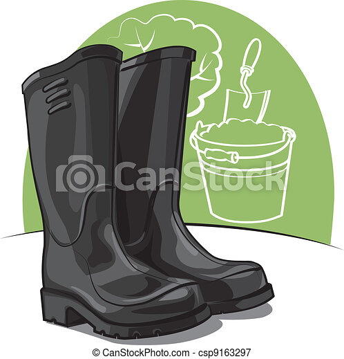 rubber boots  - csp9163297