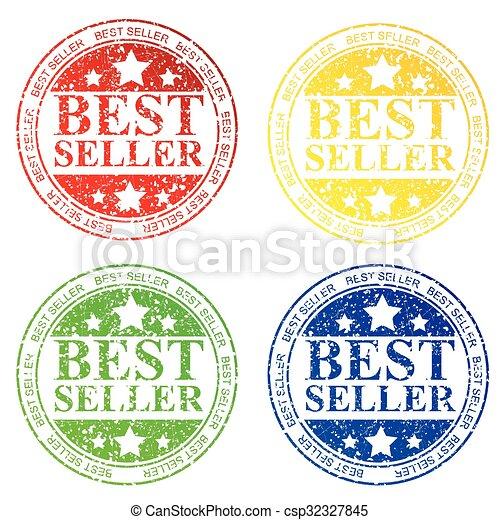Rubber Stamp - Best Seller - csp32327845