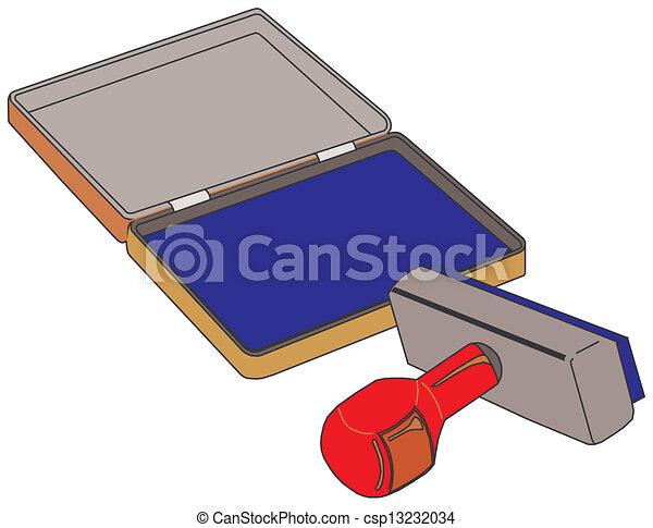 Rubber stamp - csp13232034