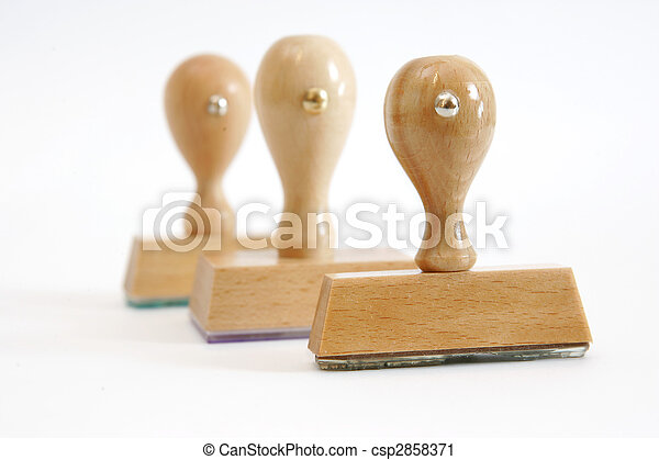 Rubber stamps - csp2858371