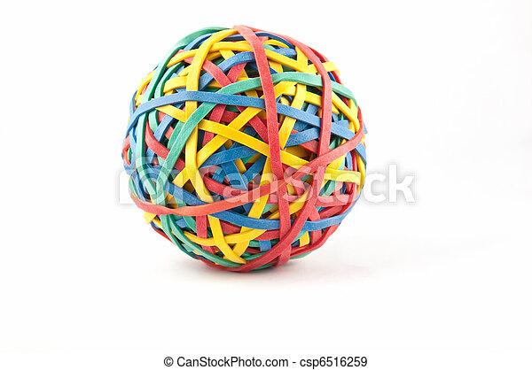 rubberbandbal - csp6516259