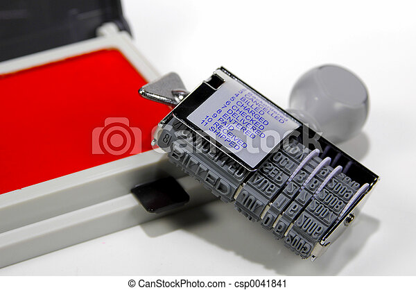 rubberstamp, 3 - csp0041841