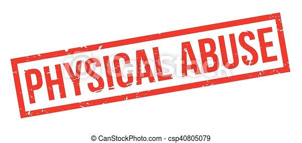 rubberstempel, misbruiken, lichamelijk - csp40805079