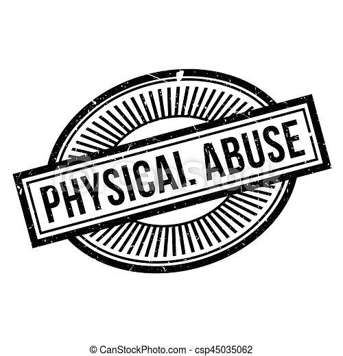 rubberstempel, misbruiken, lichamelijk - csp45035062