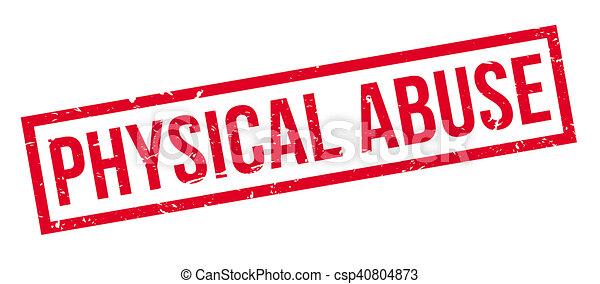 rubberstempel, misbruiken, lichamelijk - csp40804873