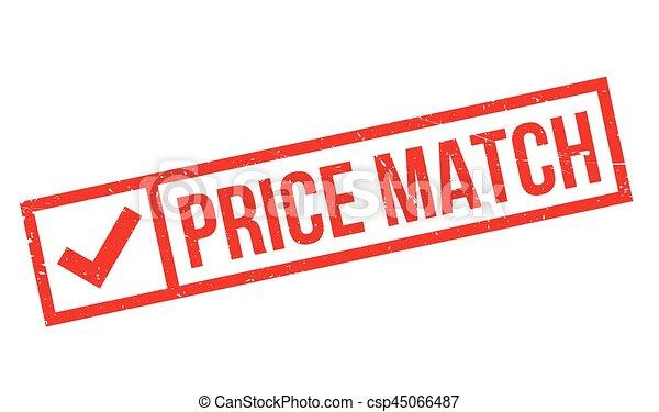rubberstempel, prijs, lucifer - csp45066487