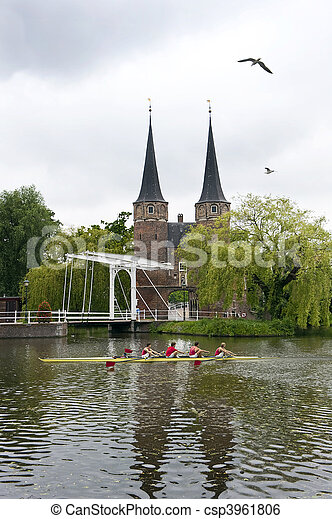 Dutch rudern - csp3961806