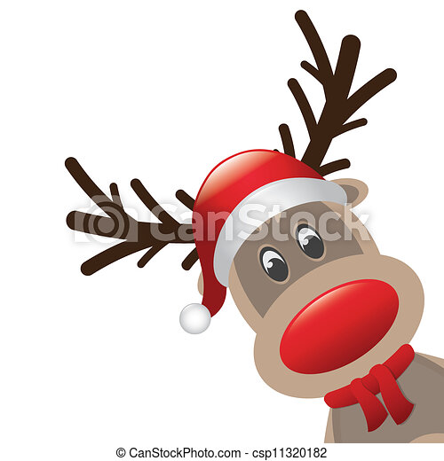 rudolph stock illustrations 1 782 rudolph clip art images and rh canstockphoto com rudolph clipart png rudolph clip art black and white