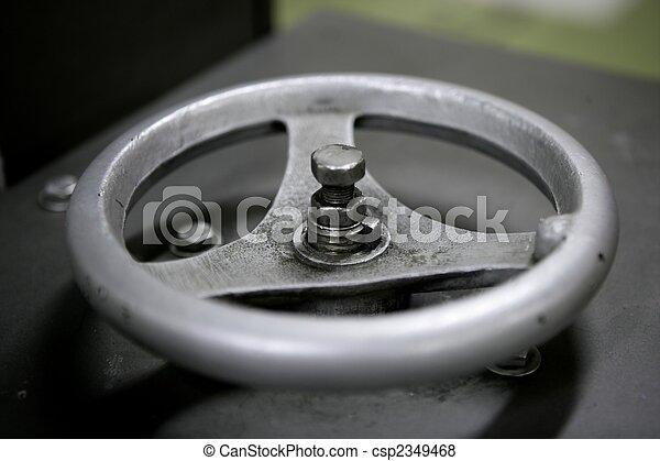 Instalación industrial, rueda de acero - csp2349468