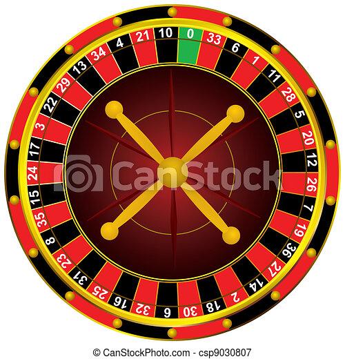 Ruleta de casino - csp9030807