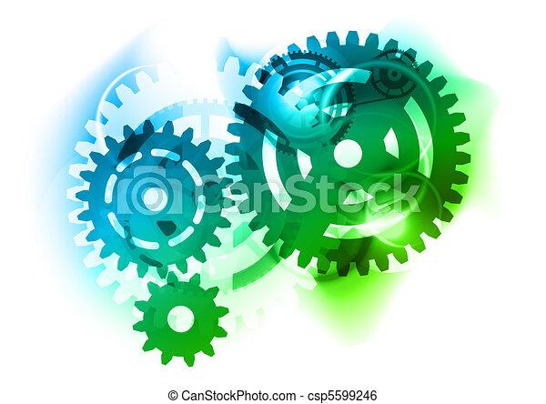 Cogwheel - csp5599246