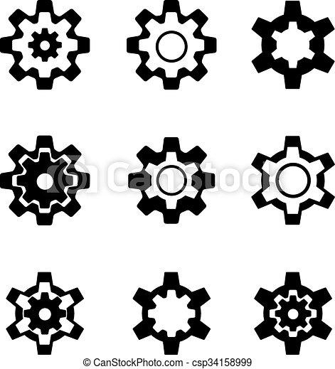 Cogwheel - csp34158999