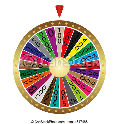 La rueda de la fortuna - csp14547488