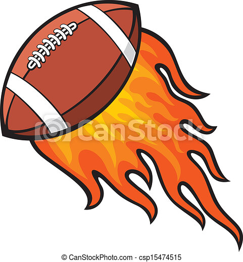 rugby ball in fire rugby american football ball in fire