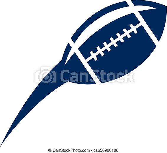 rugby, emblème, gabarit, logo - csp56900108