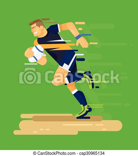 Rugby player - csp30965134