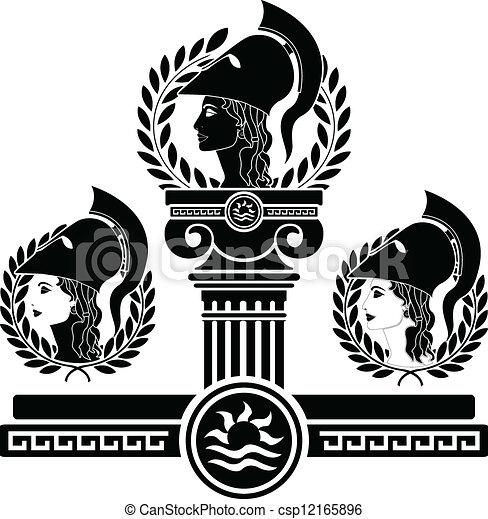 Ruhm von Athena - csp12165896