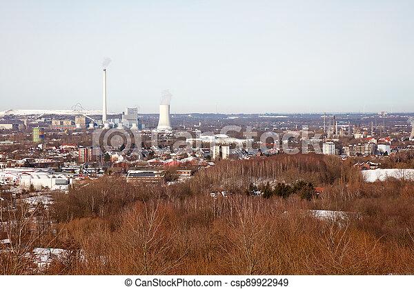 Ruhr area in winter - csp89922949