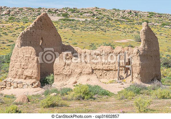 Ruin of a millhouse  - csp31602857