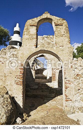 Ruined building - csp1472101