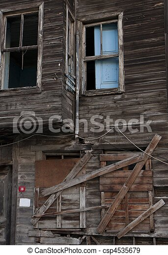 Ruined house - csp4535679