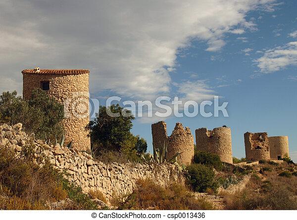 Ruins in Spain - csp0013436