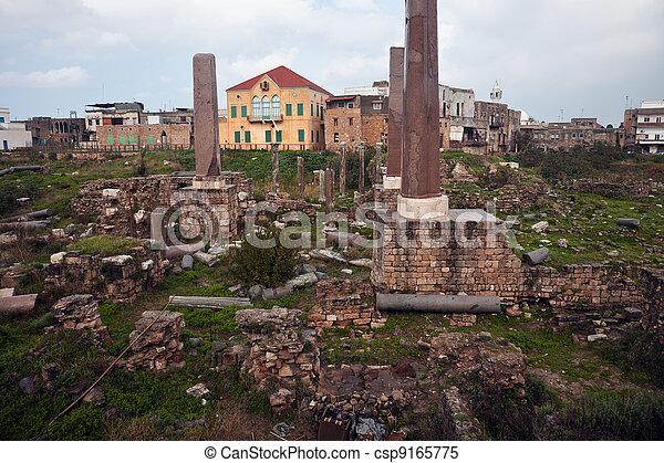 Ruins in Tyre - csp9165775