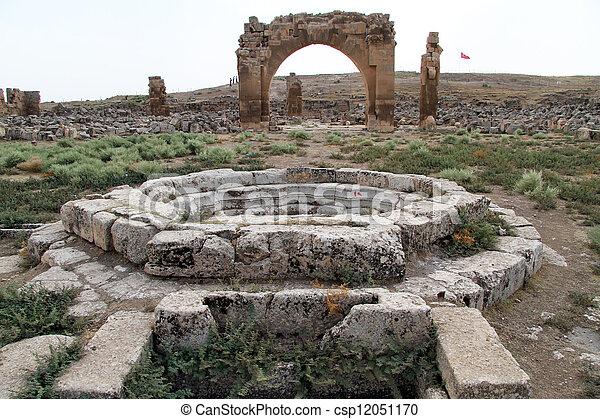 Ruins of Great mosque - csp12051170
