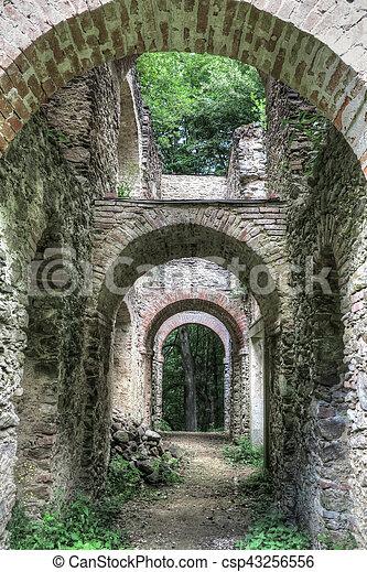 Ruins Of The Church Saint Apollonia - csp43256556