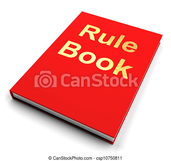 Rule Book Or Policy Guide Manual - csp10750811